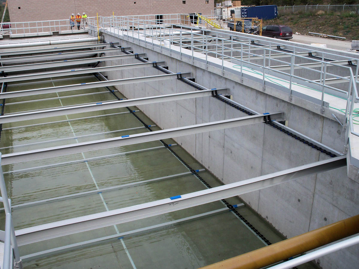 Primary Clarifier – M. Steven Carroll TF – Picton, ON