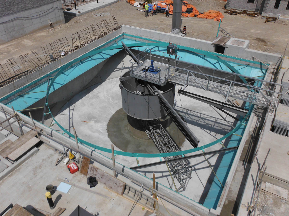 Circular Clarifier – Elora WWTP – Elora, ON